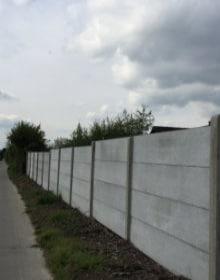 concrete fence panels classic