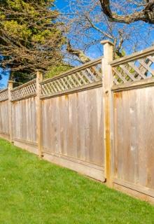 garden fence wood