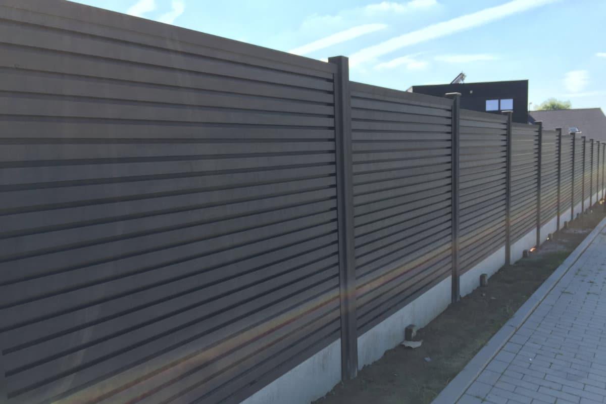 garden fence composite
