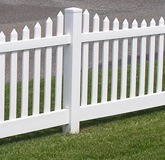 plastic decorative fence