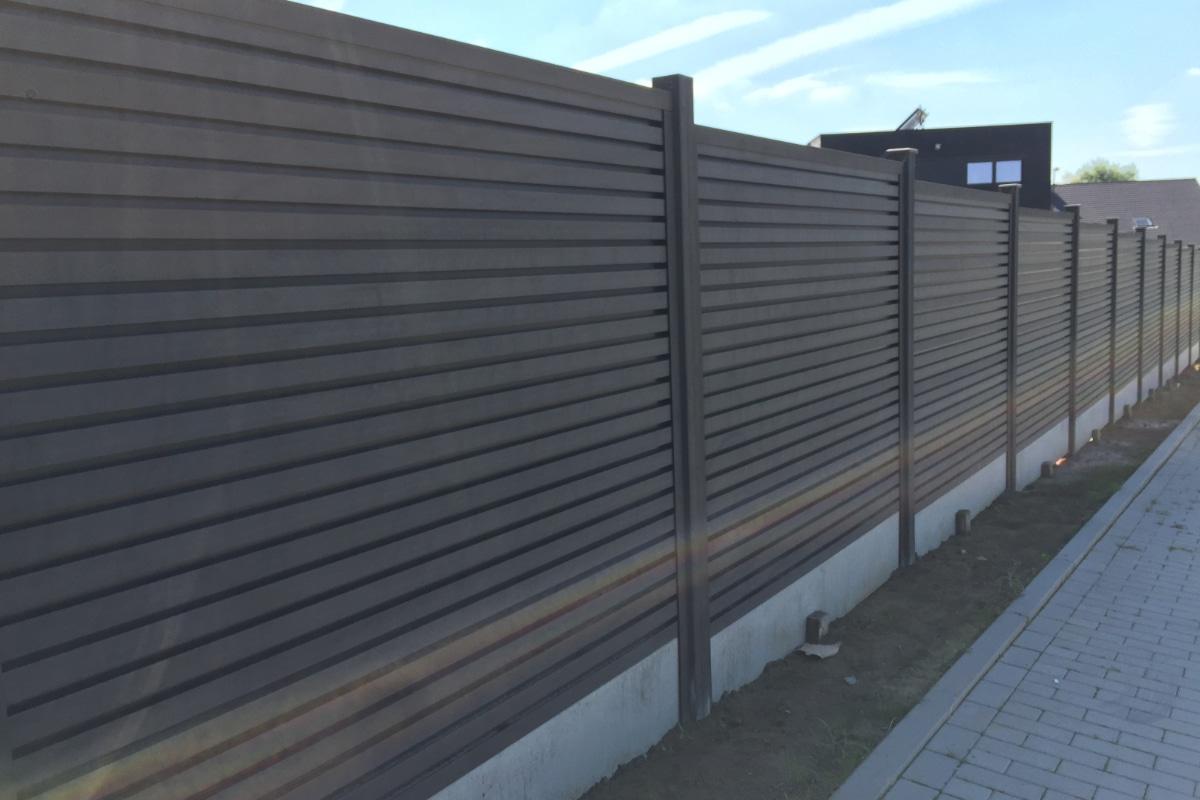 plastic garden fence