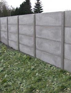 price concrete fence slabs