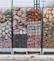 stones gabion baskets