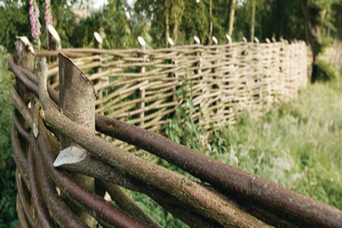 Woven Fence Panels Wood And Branches Price Advice Tips